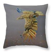 Eagle-abstract Throw Pillow