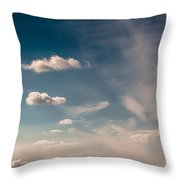 Eagle And Height Throw Pillow