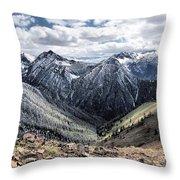 Oregon's Eagle Cap Wilderness  Throw Pillow