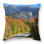 Eagle Cliff And Lafayette Throw Pillow