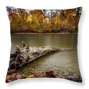 Eagle Creek Park Throw Pillow
