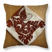 Eagle Eye - Tile Throw Pillow