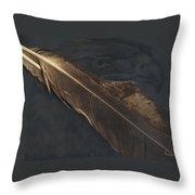 Eagle Feather   -006 Throw Pillow