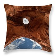Eagle Head,  Monument Valley Throw Pillow