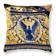 Eagle In The Middle Throw Pillow