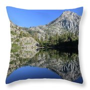 Eagle Lake Wilderness Throw Pillow
