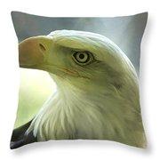 Eagle Majesty Throw Pillow