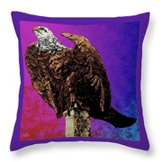 Eagle Of Wwi Throw Pillow