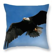Eagle Pride Throw Pillow