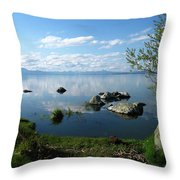 Eagle Ridge View Throw Pillow