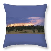 Eagle Rock Estes Park Throw Pillow
