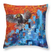 Eagle Throw Pillow