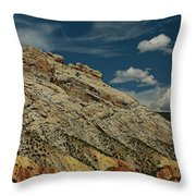 Eargth And Sky Throw Pillow
