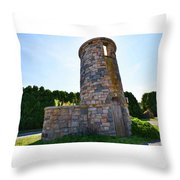 Earles Court Tower Throw Pillow