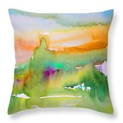 Early Afternoon 05 Throw Pillow