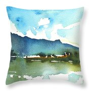 Early Afternoon 14 Throw Pillow