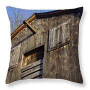 Early American Barn Throw Pillow