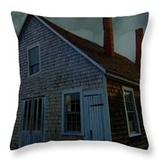 Early American Moonlight Throw Pillow
