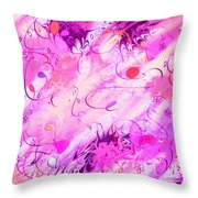 Early Celebration Throw Pillow