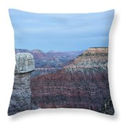 Early Evening At Grand Canyon No. 2 Throw Pillow