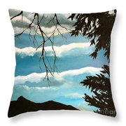 Early Evening I Throw Pillow