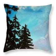 Early Evening II Throw Pillow