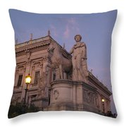Early Evening Rome Number Two Throw Pillow