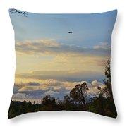 Early Evening Sunset 2 Throw Pillow