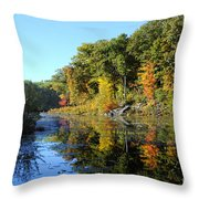 Early Fall Colors Throw Pillow