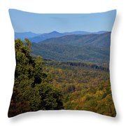 Early Fall In Virginia Throw Pillow