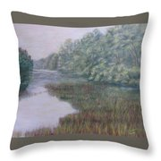 Early Fall Serenity Throw Pillow