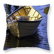 Early Longliner Throw Pillow