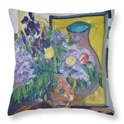 Early May Throw Pillow