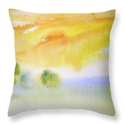 Early Morning 02 Throw Pillow