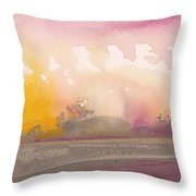 Early Morning 03 Throw Pillow