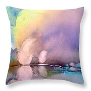 Early Morning 11 Throw Pillow