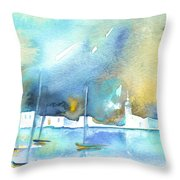 Early Morning 19 Throw Pillow