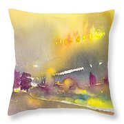 Early Morning 21 Throw Pillow