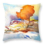Early Morning 24 Throw Pillow