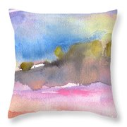 Early Morning 69 Throw Pillow