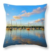 Early Morning 8768 Throw Pillow