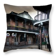 Early Morning At Cornet Throw Pillow