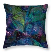 Early Morning Dew Sparkles Throw Pillow
