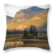 Early Morning In Jasper Throw Pillow