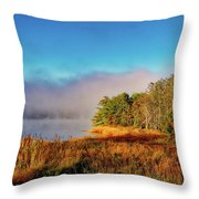 Early Morning On The Bay Throw Pillow