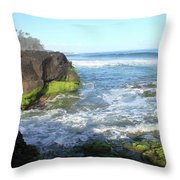 Early Morning Pacific Throw Pillow