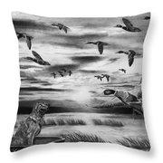 Early Morning Throw Pillow by Peter Piatt