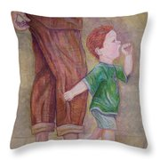 Early Morning Risers Throw Pillow