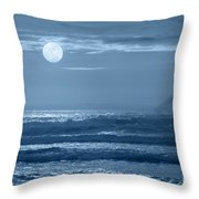 Early  Morning Splendor Throw Pillow by Sandra Bronstein