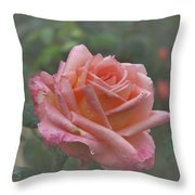 Early Morning Tear Throw Pillow